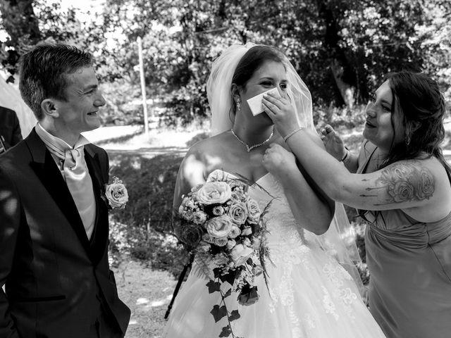 Le mariage de Johan et Lola à Serviès, Tarn 76