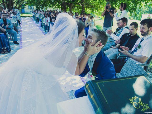 Le mariage de Johan et Lola à Serviès, Tarn 93