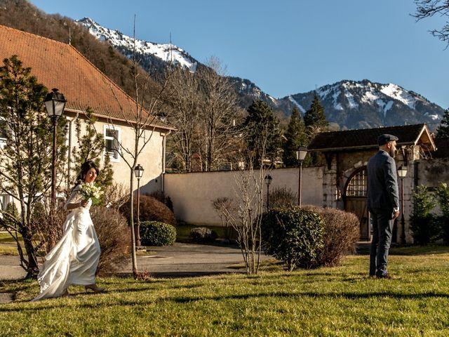Le mariage de David et Karine à Faverges, Haute-Savoie 8