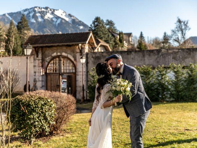 Le mariage de David et Karine à Faverges, Haute-Savoie 9