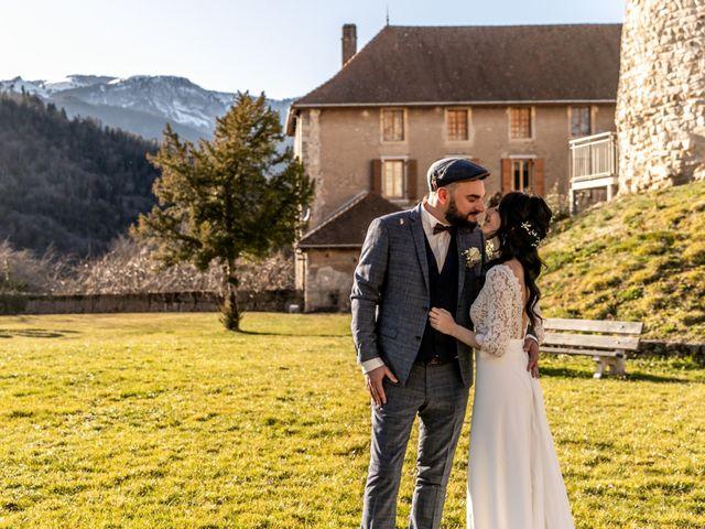 Le mariage de David et Karine à Faverges, Haute-Savoie 10