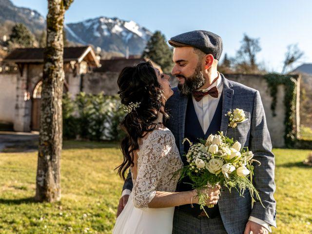 Le mariage de David et Karine à Faverges, Haute-Savoie 11