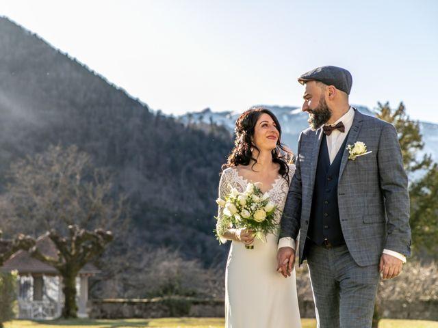 Le mariage de David et Karine à Faverges, Haute-Savoie 12