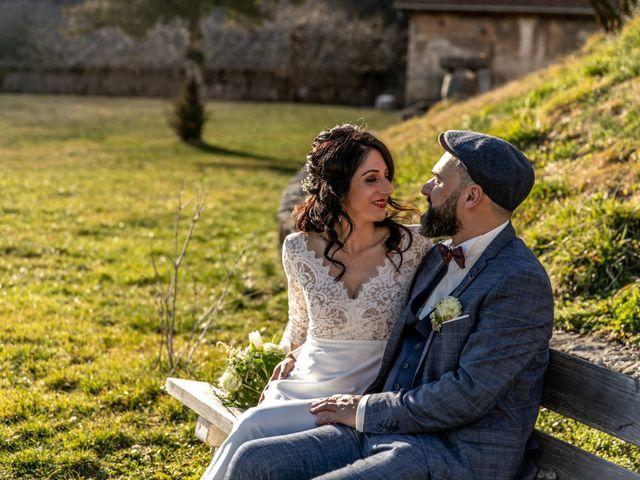 Le mariage de David et Karine à Faverges, Haute-Savoie 13