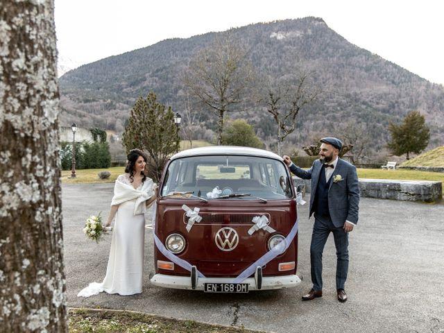 Le mariage de David et Karine à Faverges, Haute-Savoie 18