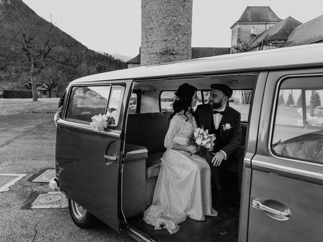 Le mariage de David et Karine à Faverges, Haute-Savoie 19