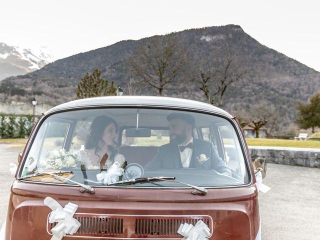 Le mariage de David et Karine à Faverges, Haute-Savoie 21