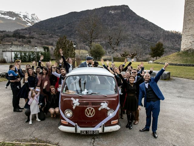 Le mariage de David et Karine à Faverges, Haute-Savoie 23