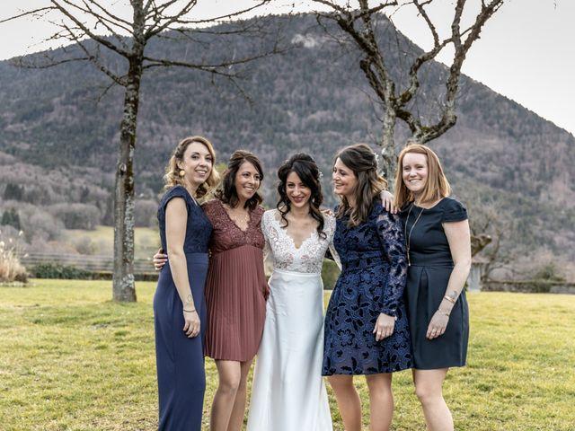 Le mariage de David et Karine à Faverges, Haute-Savoie 25