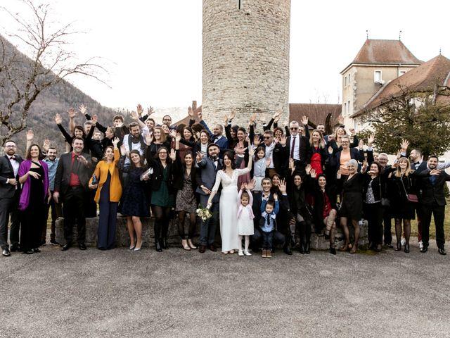 Le mariage de David et Karine à Faverges, Haute-Savoie 27