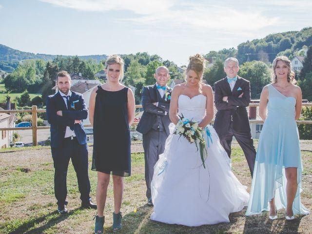 Le mariage de David et Virginie à Bruyères, Vosges 21