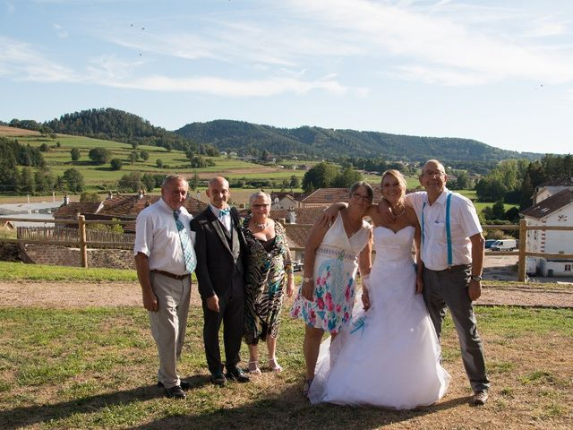 Le mariage de David et Virginie à Bruyères, Vosges 23