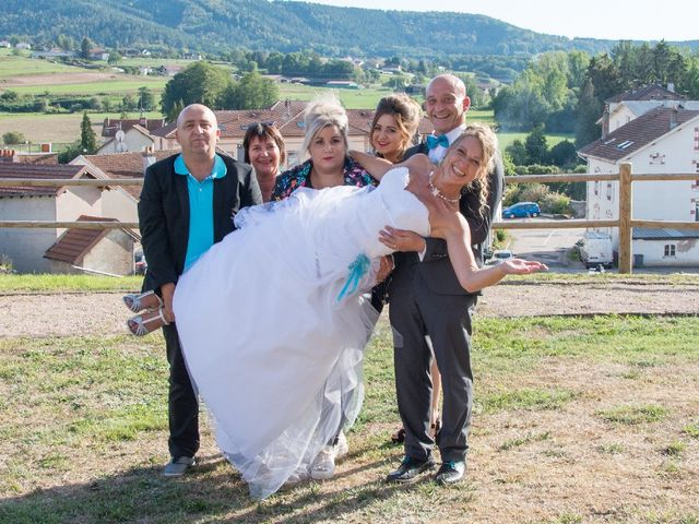 Le mariage de David et Virginie à Bruyères, Vosges 24