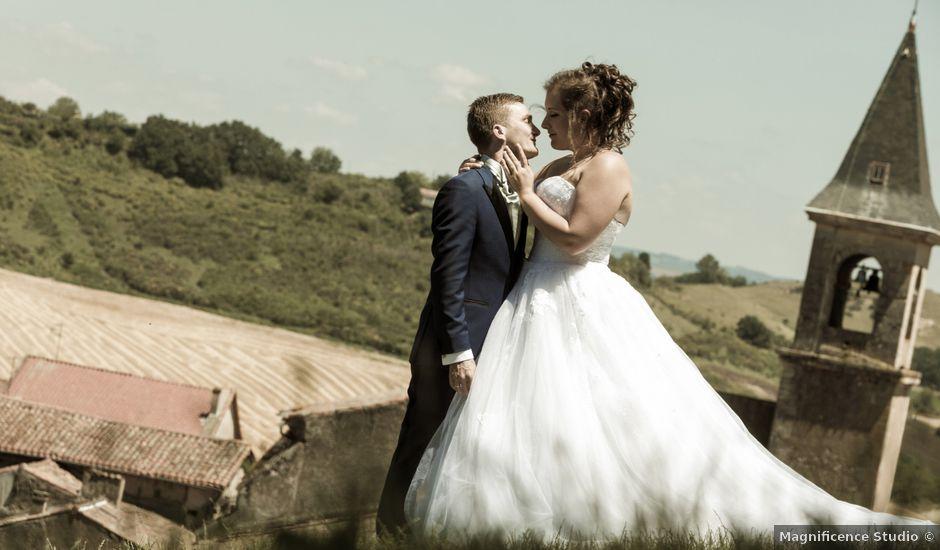 Le mariage de Johan et Lola à Serviès, Tarn