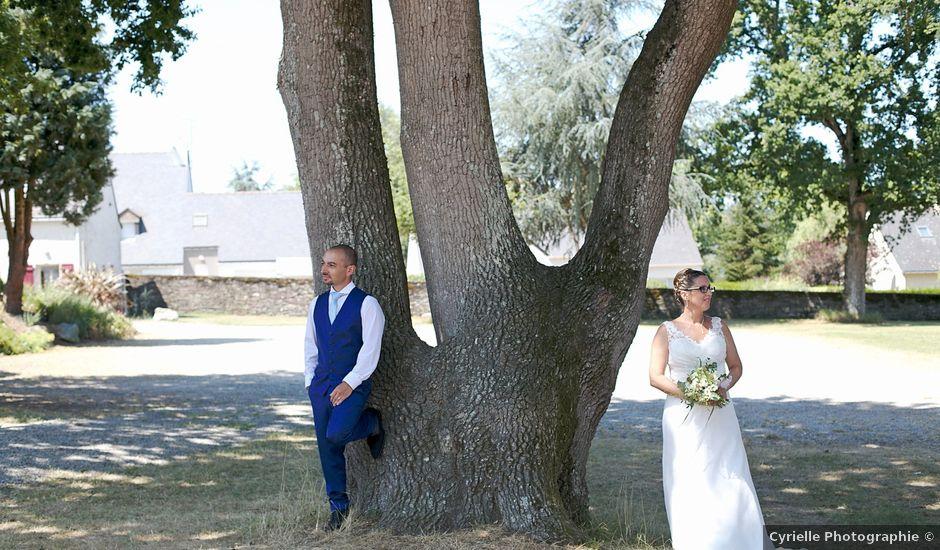 Le mariage de Cédric et Julie à Jans, Loire Atlantique