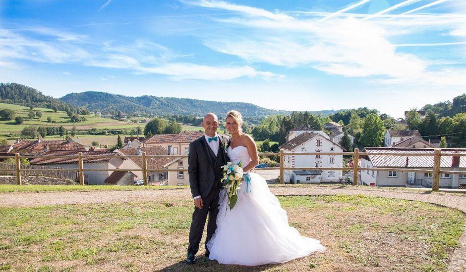 Le mariage de David et Virginie à Bruyères, Vosges