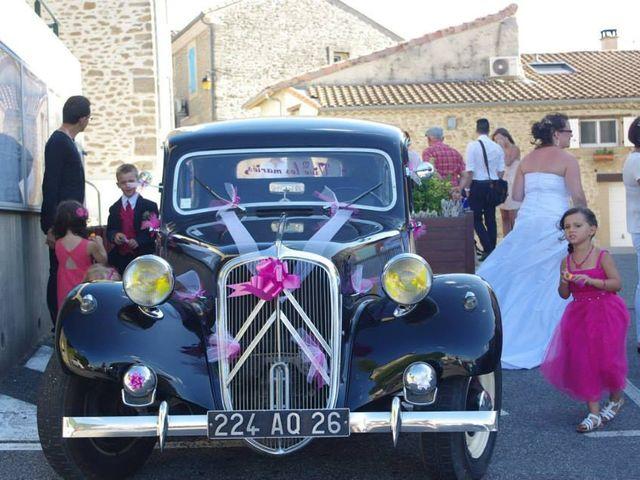 Le mariage de Aurélien et Cécile à Upie, Drôme 5