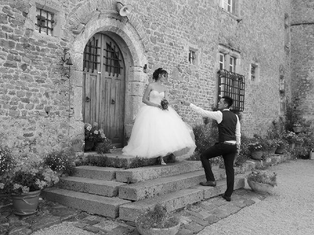 Le mariage de Leny et Eloise à Créances, Manche 1