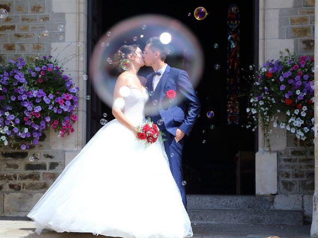 Le mariage de Leny et Eloise à Créances, Manche 11