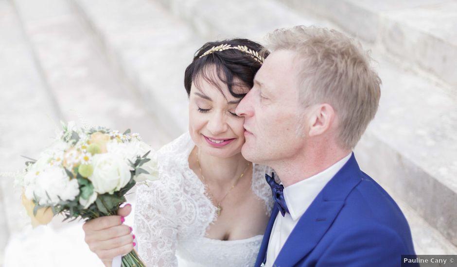Le mariage de Olivier et Sabrina à Trouhans, Côte d'Or