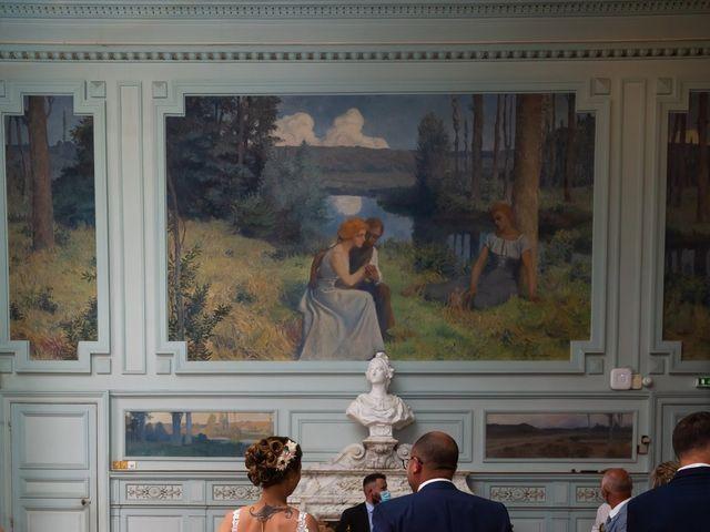 Le mariage de Jérome et Elodie à Échiré, Deux-Sèvres 5