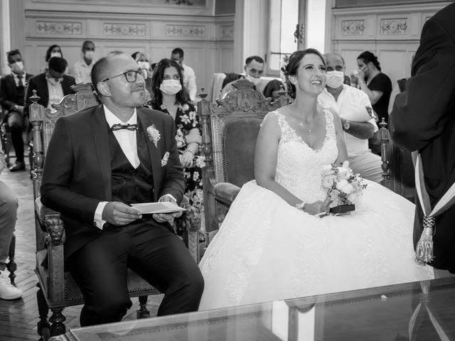 Le mariage de Jérome et Elodie à Échiré, Deux-Sèvres 7