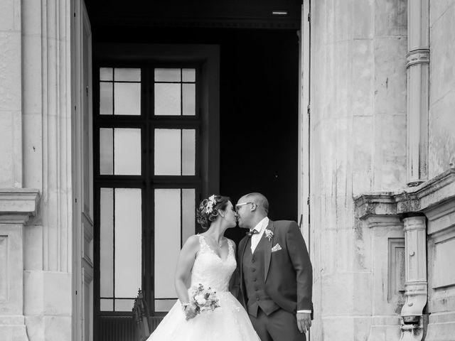 Le mariage de Jérome et Elodie à Échiré, Deux-Sèvres 8