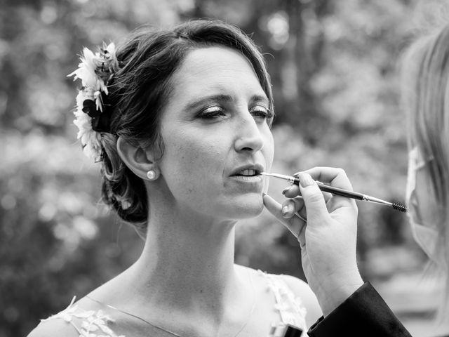 Le mariage de Jérome et Elodie à Échiré, Deux-Sèvres 9