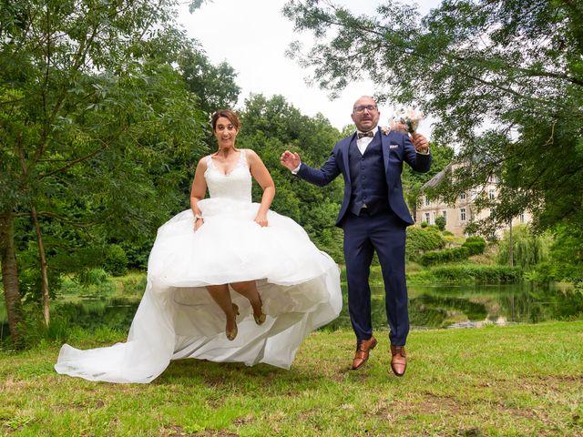 Le mariage de Jérome et Elodie à Échiré, Deux-Sèvres 14