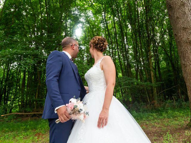 Le mariage de Jérome et Elodie à Échiré, Deux-Sèvres 20