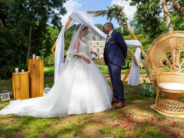 Le mariage de Jérome et Elodie à Échiré, Deux-Sèvres 44