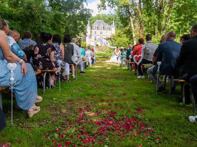 Le mariage de Jérome et Elodie à Échiré, Deux-Sèvres 50
