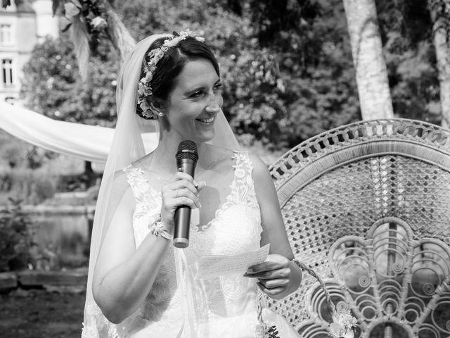 Le mariage de Jérome et Elodie à Échiré, Deux-Sèvres 56