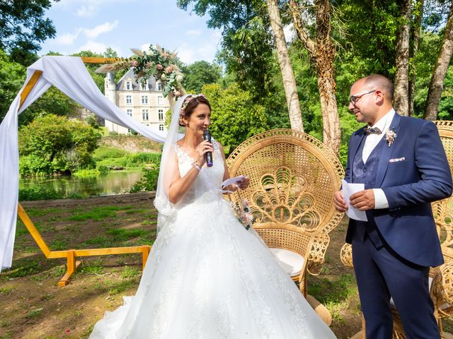 Le mariage de Jérome et Elodie à Échiré, Deux-Sèvres 59