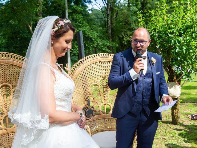 Le mariage de Jérome et Elodie à Échiré, Deux-Sèvres 61