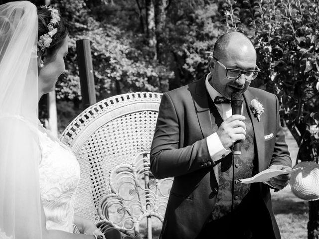 Le mariage de Jérome et Elodie à Échiré, Deux-Sèvres 62