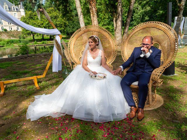 Le mariage de Jérome et Elodie à Échiré, Deux-Sèvres 67