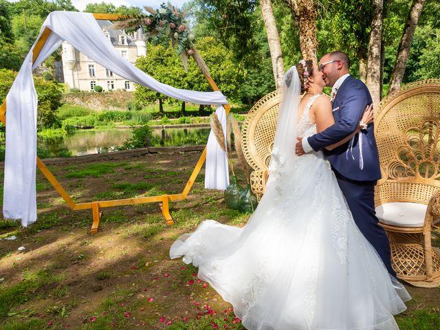 Le mariage de Jérome et Elodie à Échiré, Deux-Sèvres 73