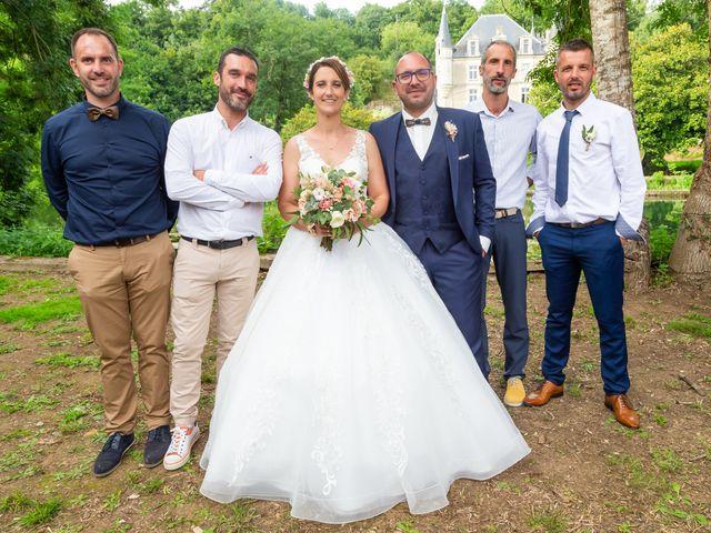 Le mariage de Jérome et Elodie à Échiré, Deux-Sèvres 80