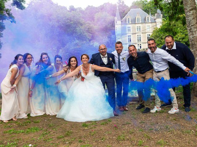 Le mariage de Jérome et Elodie à Échiré, Deux-Sèvres 87
