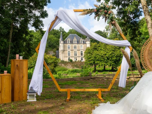 Le mariage de Jérome et Elodie à Échiré, Deux-Sèvres 100