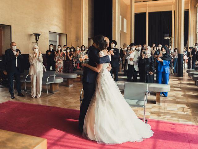 Le mariage de Ossama et Lucie à Boulogne-Billancourt, Hauts-de-Seine 31