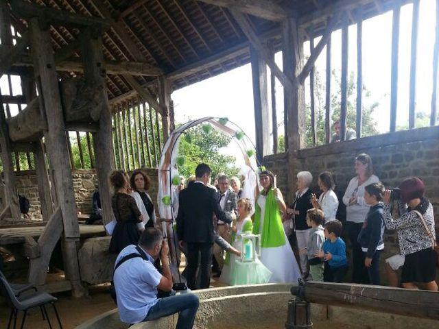 Le mariage de Steve et Stephanie  à Lonlay-l'Abbaye, Orne 5