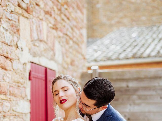 Le mariage de Maxime et Marie à Lacenas, Rhône 44