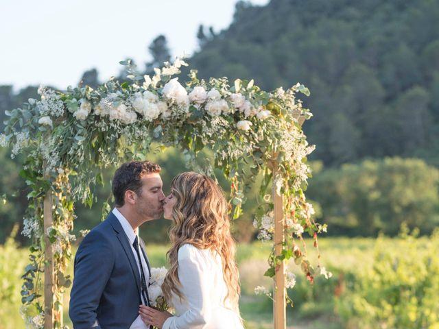 Le mariage de Mathieu et Élena à Vidauban, Var 48