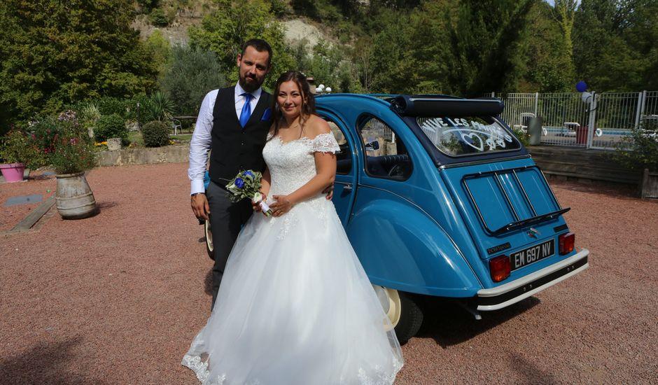 Le mariage de Charles et Jessica à Saint-Thomas-en-Royans, Drôme