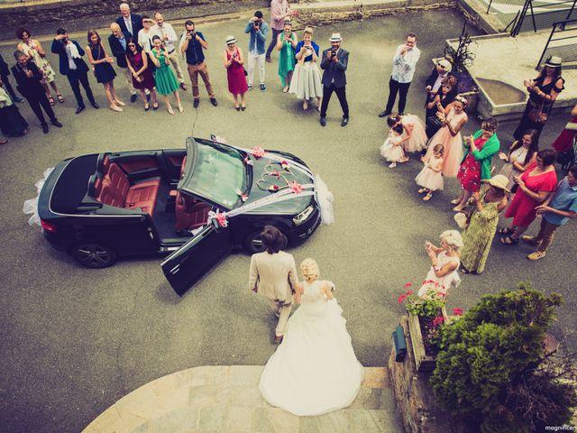 Le mariage de Florent et Clara à Pont-de-Salars, Aveyron 57