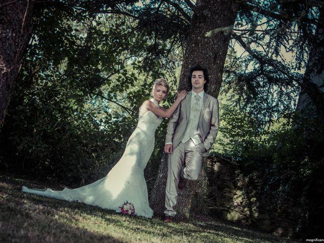 Le mariage de Florent et Clara à Pont-de-Salars, Aveyron 2