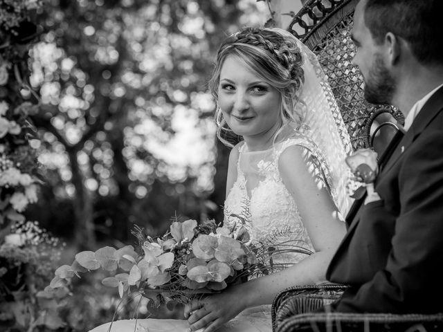 Le mariage de Jérémy et Sandra à Mauprévoir, Vienne 36