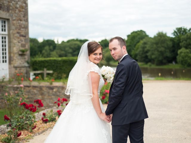 Le mariage de Fabien et Jessica à Paimpont, Ille et Vilaine 16